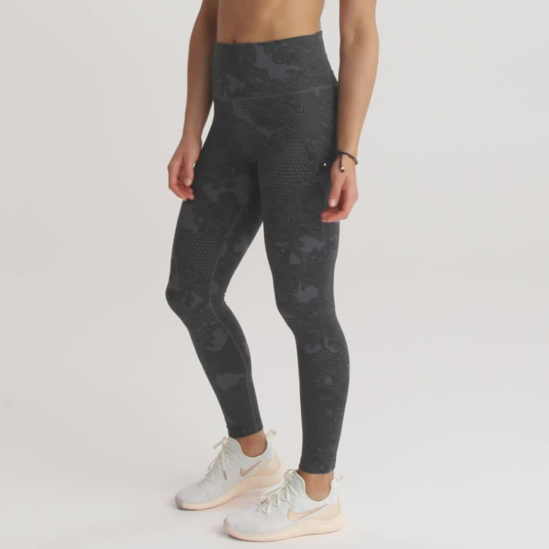 Women's Nike Dri FIT Power Printed Training Leggings