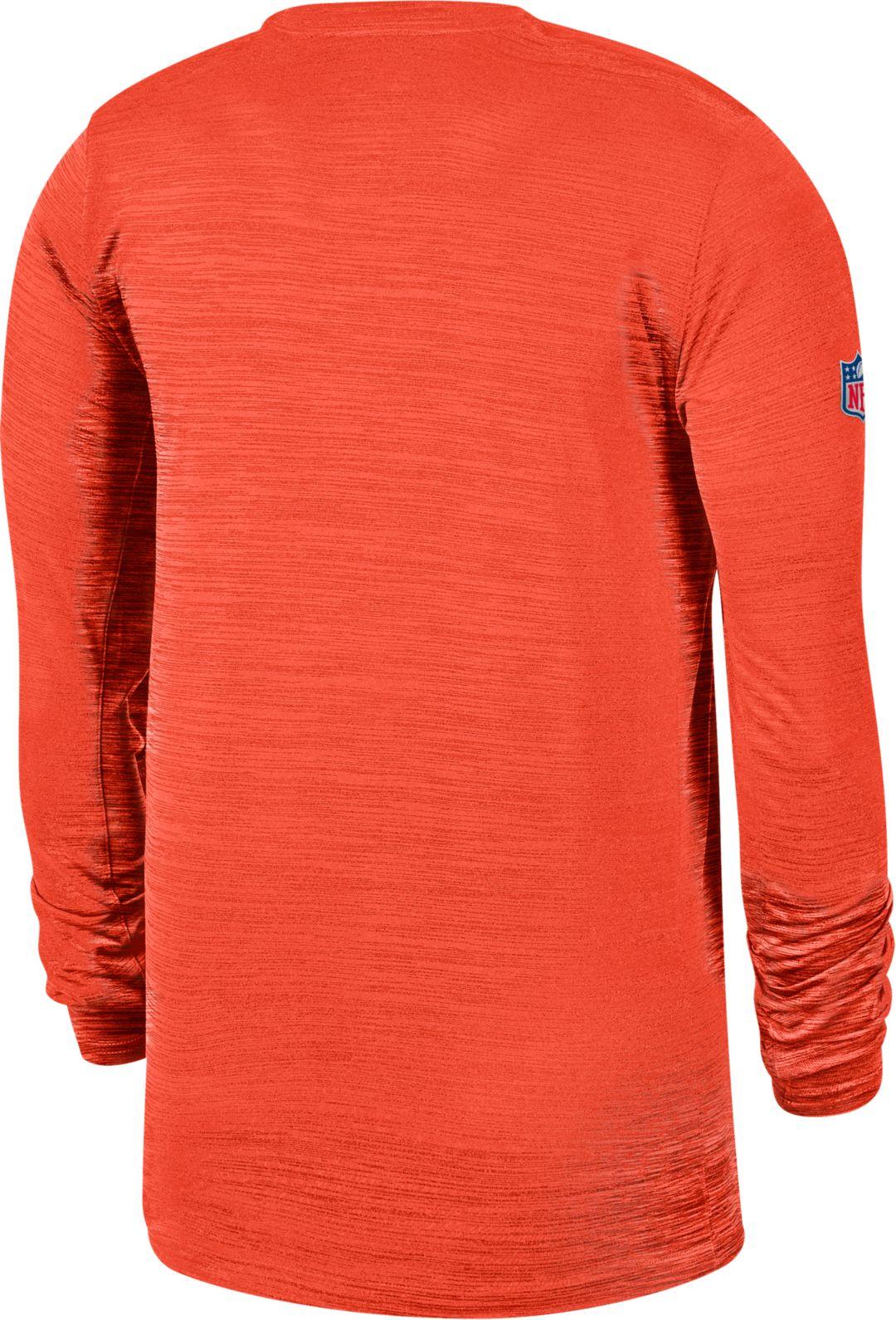 huge discount 4041d 2ba8f Nike Men's Cleveland Browns Sideline Legend Velocity Orange ...