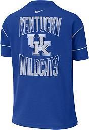Nike Women's Kentucky Wildcats Blue Breathe Crew Neck T-Shirt product image