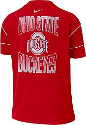 Nike Women's Ohio State Buckeyes Scarlet Breathe Crew Neck T-Shirt product image