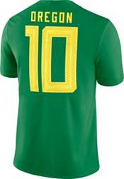 Nike Men's Oregon Ducks #10 Green Dri-FIT Game Football Jersey product image