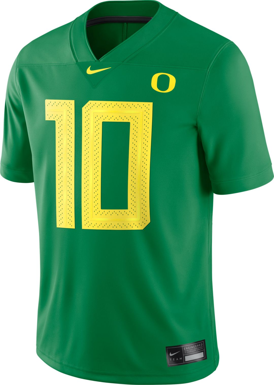 online retailer 56eda 854b0 Nike Men's Oregon Ducks #36 Green Dri-FIT Game Football Jersey