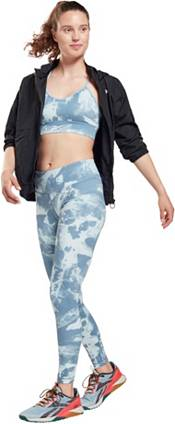 Reebok Women's Meet You There Printed Sports Bra product image