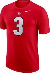 Nike Men's Georgia Bulldogs Todd Gurley II #3 Red Dri-FIT Football Jersey T-Shirt product image