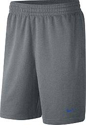 Nike Men's Duke Blue Devils Grey Dri-FIT Spotlight Basketball Shorts product image