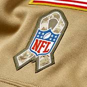 Nike Men's Salute to Service Pittsburgh Steelers Therma-FIT Beige Camo Hoodie product image
