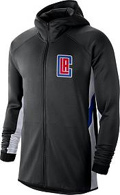 Nike Men's Los Angeles Clippers Black Earned Edition Therma Flex Hoodie product image