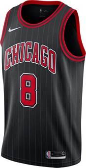 Nike Men's Chicago Bulls Zach LaVine #8 Black Dri-FIT Statement Swingman Jersey product image