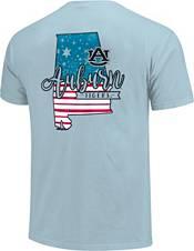 Image One Men's Auburn Tigers Blue Americana State T-Shirt product image