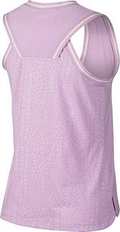 Nike Women's Knit Burnout Sleeveless Golf Polo product image