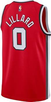 Nike Men's Portland Trail Blazers Damian Lillard #0 Hardwood Classic Dri-FIT Swingman Jersey product image