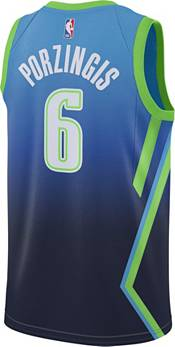Nike Men's Dallas Mavericks Kristaps Porzingis Dri-FIT City Edition Swingman Jersey product image