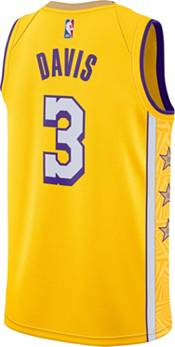Nike Men's Los Angeles Lakers Anthony Davis Dri-FIT City Edition Swingman Jersey product image