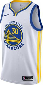 Nike Men's Golden State Warriors Stephen Curry #30 White Dri-FIT Swingman Jersey product image