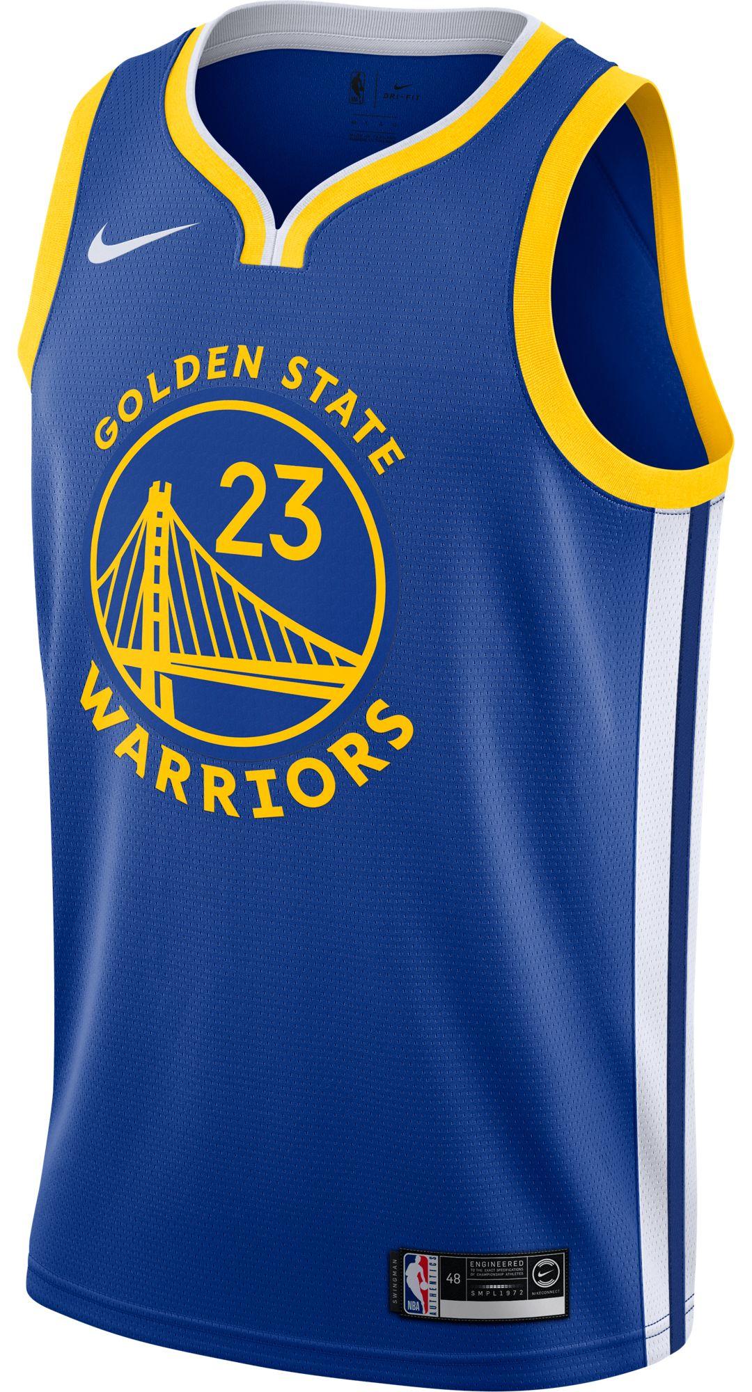 size 40 b6173 cf1fc Nike Men's Golden State Warriors Draymond Green #23 Royal Dri-FIT Swingman  Jersey