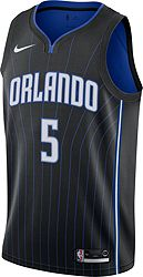 pretty nice 58732 cffba Nike Men's Orlando Magic Mohamed Bamba #5 Black Dri-FIT Swingman Jersey