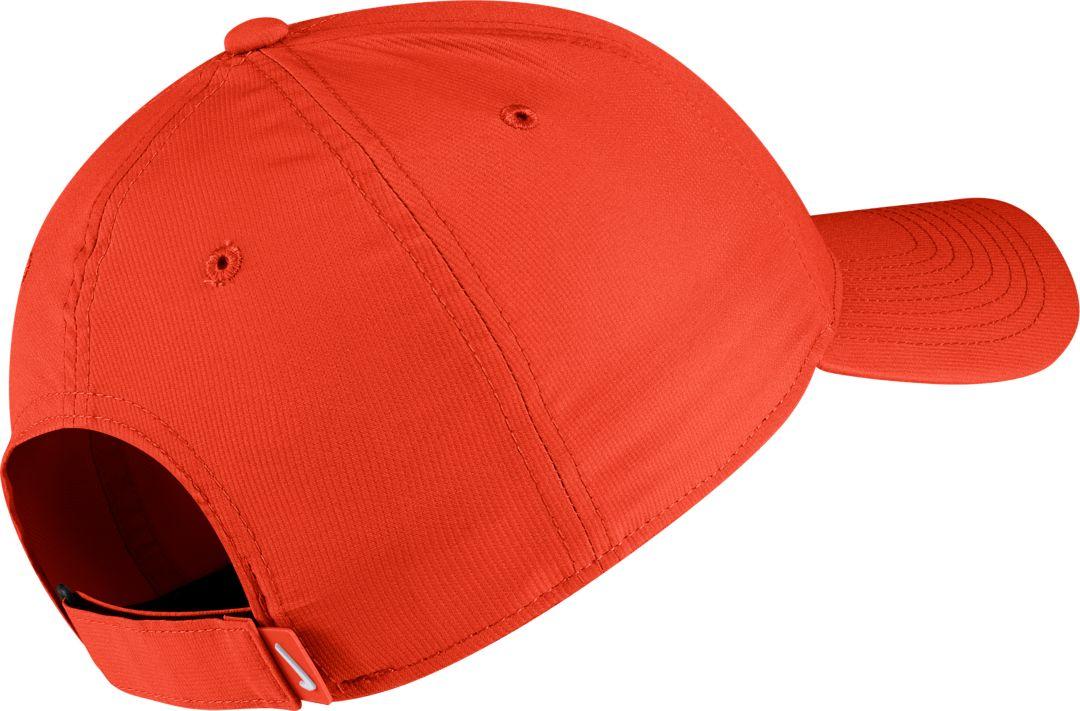 618776f1 Nike Men's Clemson Tigers Orange Legacy91 Adjustable Hat
