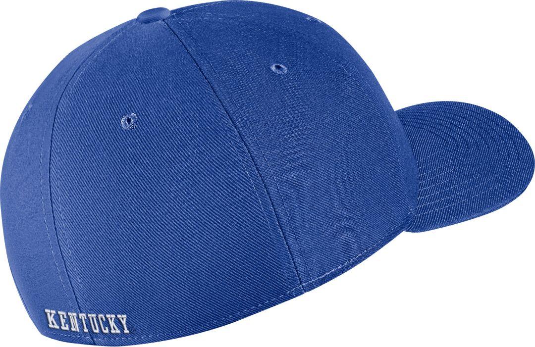 great fit outlet store buy Nike Men's Kentucky Wildcats Blue Classic99 Swoosh Flex Hat