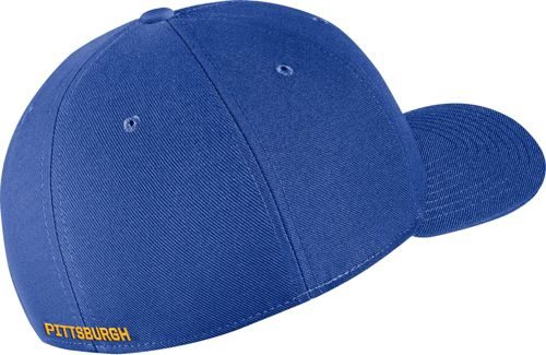 new arrival 29f37 680fb Nike Men s Pitt Panthers Blue Classic99 Swoosh Flex Hat