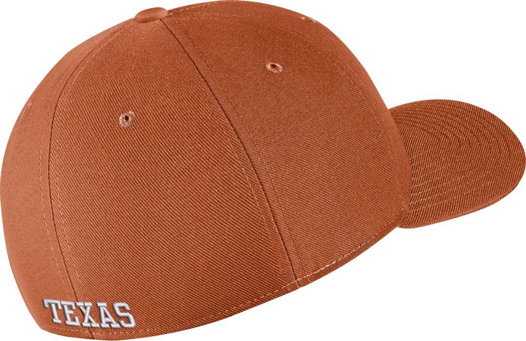 buy online 5caed 99fd1 Nike Men s Texas Longhorns Burnt Orange Classic99 Swoosh Flex Hat.  noImageFound. Previous. 1. 2