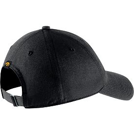898210edcf73a0 Nike Men's Iowa Hawkeyes Heritage86 Arch Wordmark Black Hat | DICK'S ...