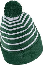 Nike Men's Baylor Bears Green Football Sideline Cuffed Pom Beanie product image
