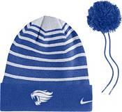 Nike Men's Kentucky Wildcats Blue Football Sideline Cuffed Pom Beanie product image