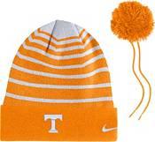 Nike Men's Tennessee Volunteers Tennessee Orange Football Sideline Cuffed Pom Beanie product image