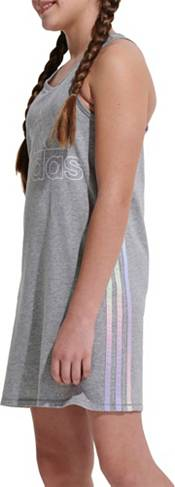 adidas Girls's Racerback Stripe Sleeveless Dress product image