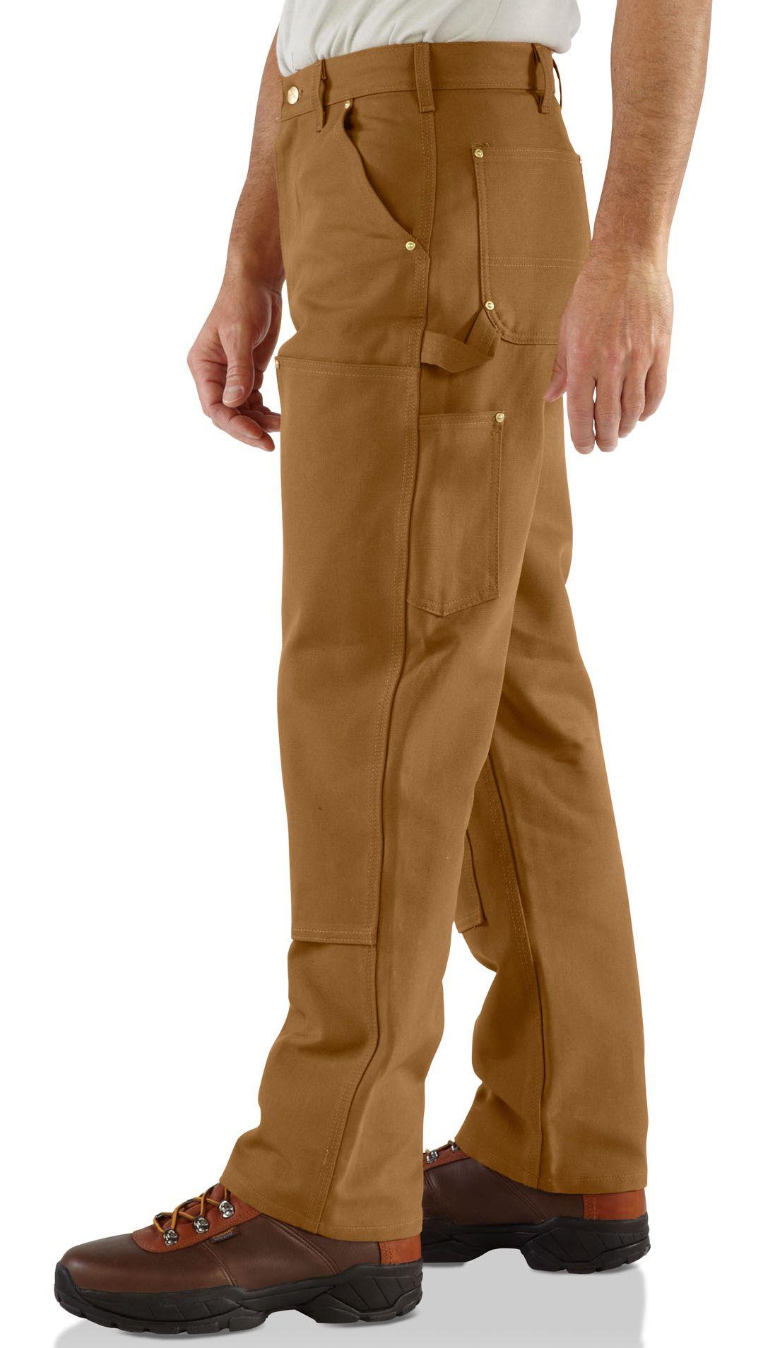 Carhartt USA Work wear duck canvas B01-BRN Original Men/'s Size 42 x 34 NEW