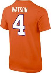 Nike Youth Deshaun Watson Clemson Tigers #4 Orange College Alumni Core T-Shirt product image