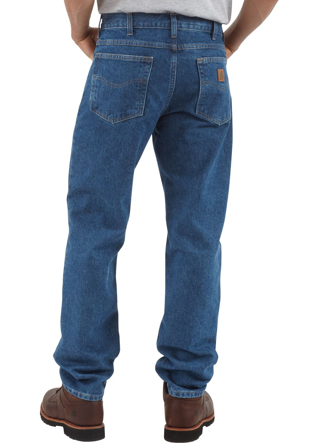 6ec115e4 Carhartt Men's Traditional Fit Tapered Leg Jeans   DICK'S Sporting Goods