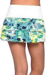 Lucky In Love Girls' Tie Dye Scallop Tennis Skort product image