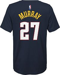 best sneakers 12d33 ce58d Nike Youth Denver Nuggets Jamal Murray #27 Dri-FIT Navy T-Shirt