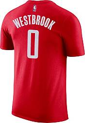 Nike Youth Houston Rockets Russell Westbrook #0 Dri-FIT Red T-Shirt product image