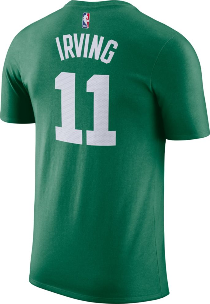 timeless design 6fec5 d2e3b Nike Youth Boston Celtics Kyrie Irving #11 Dri-FIT Kelly Green T-Shirt