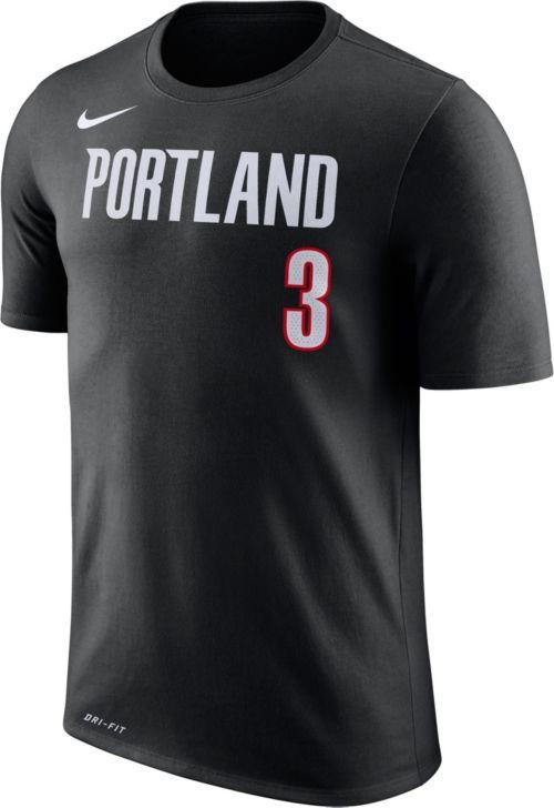 a6e0264e4 Nike Youth Portland Trail Blazers C.J. McCollum  3 Dri-FIT Black T-Shirt