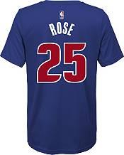 Nike Youth Detroit Pistons Derrick Rose #25 Dri-FIT Blue T-Shirt product image