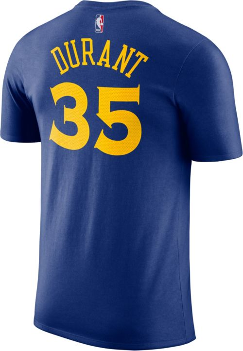 71a3584dc405d Nike Youth Golden State Warriors Kevin Durant  35 Dri-FIT Royal T ...
