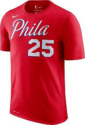 Nike Youth Philadelphia 76ers Ben Simmons #25 Dri-FIT Statement Red T-Shirt product image