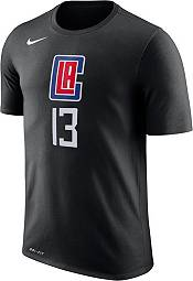 Nike Youth Los Angeles Clippers Paul George #13 Dri-FIT Statement Black T-Shirt product image