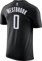 Nike Youth Houston Rockets Russell Westbrook #0 Dri-FIT Statement Black T-Shirt product image