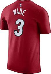 Nike Youth Miami Heat Dwyane Wade #3 Dri-FIT Statement Red T-Shirt product image