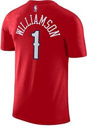 Nike Youth New Orleans Pelicans Zion Williamson #1 Dri-FIT Red T-Shirt product image