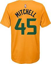 Nike Youth Utah Jazz Donovan Mitchell #45 Dri-FIT Statement Gold T-Shirt product image