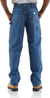 Carhartt Men's Double Front Washed Denim Logger Dungarees (Regular and Big & Tall) product image