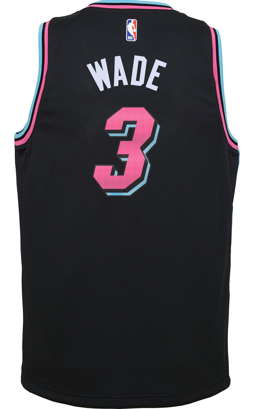 free shipping 8f910 37c2d Nike Youth Miami Heat Dwyane Wade Dri-FIT City Edition Swingman Jersey