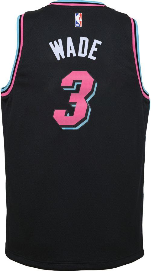 Nike Youth Miami Heat Dwyane Wade Dri-FIT City Edition Swingman Jersey.  noImageFound. Previous. 1. 2. 3 d3ba16c59