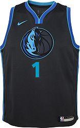 buy online ff9e9 4f188 Nike Youth Dallas Mavericks Dennis Smith Jr. Dri-FIT City Edition Swingman  Jersey