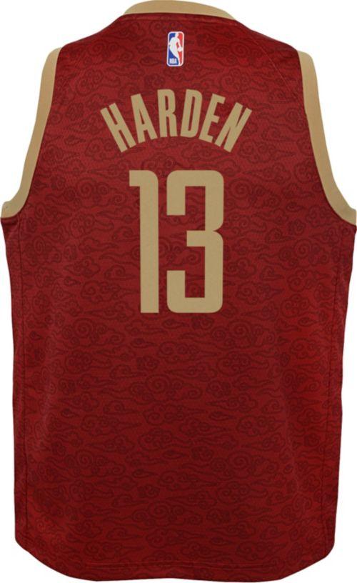 a0e8f294c Nike Youth Houston Rockets James Harden Dri-FIT City Edition Swingman Jersey.  noImageFound. Previous. 1. 2. 3